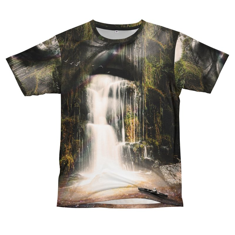 The Source Men's T-Shirt Cut & Sew by nicebleed