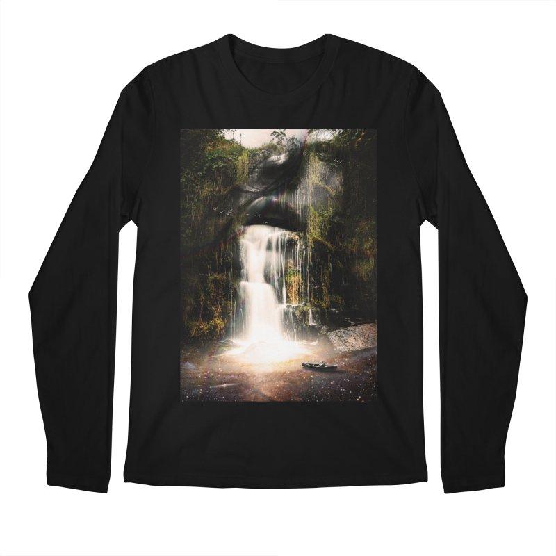 The Source Men's Regular Longsleeve T-Shirt by nicebleed