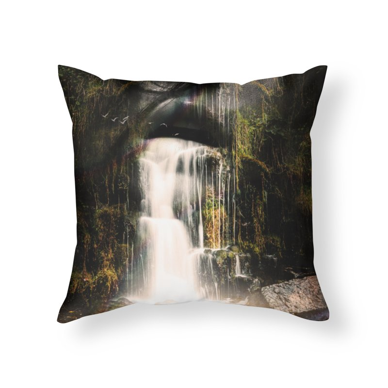 The Source Home Throw Pillow by nicebleed