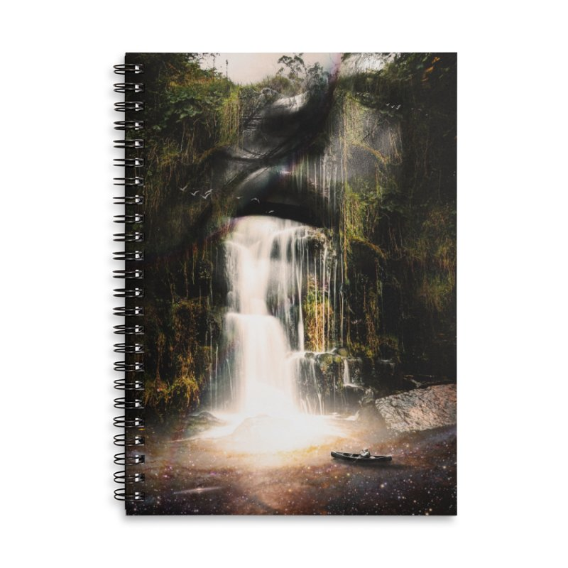 The Source Accessories Lined Spiral Notebook by nicebleed