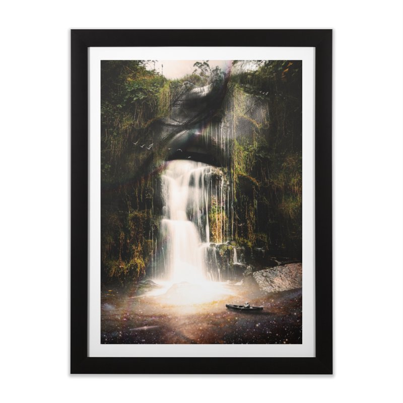 The Source Home Framed Fine Art Print by nicebleed