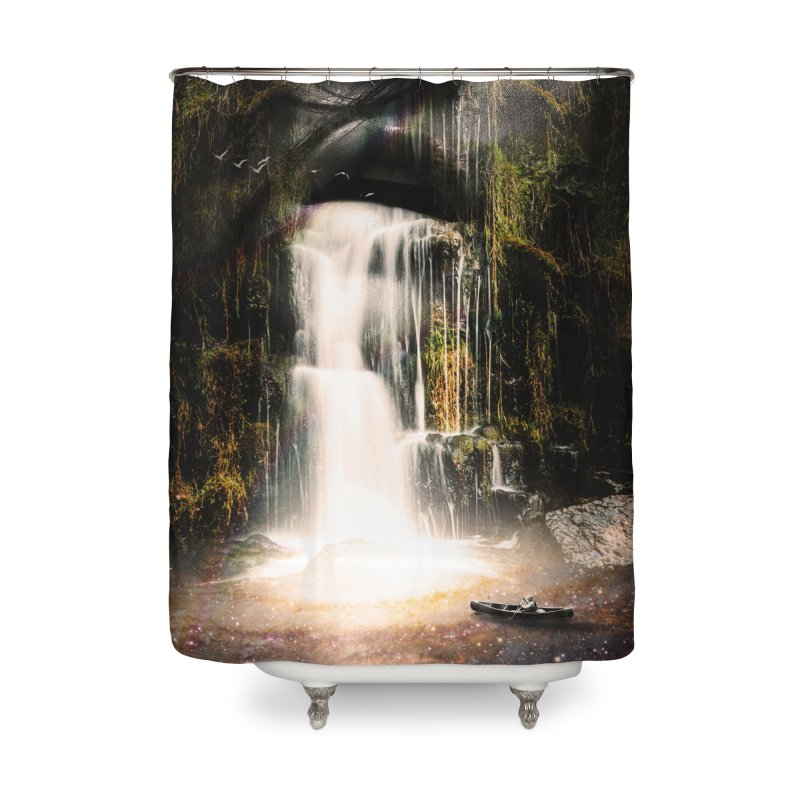 The Source Home Shower Curtain by nicebleed