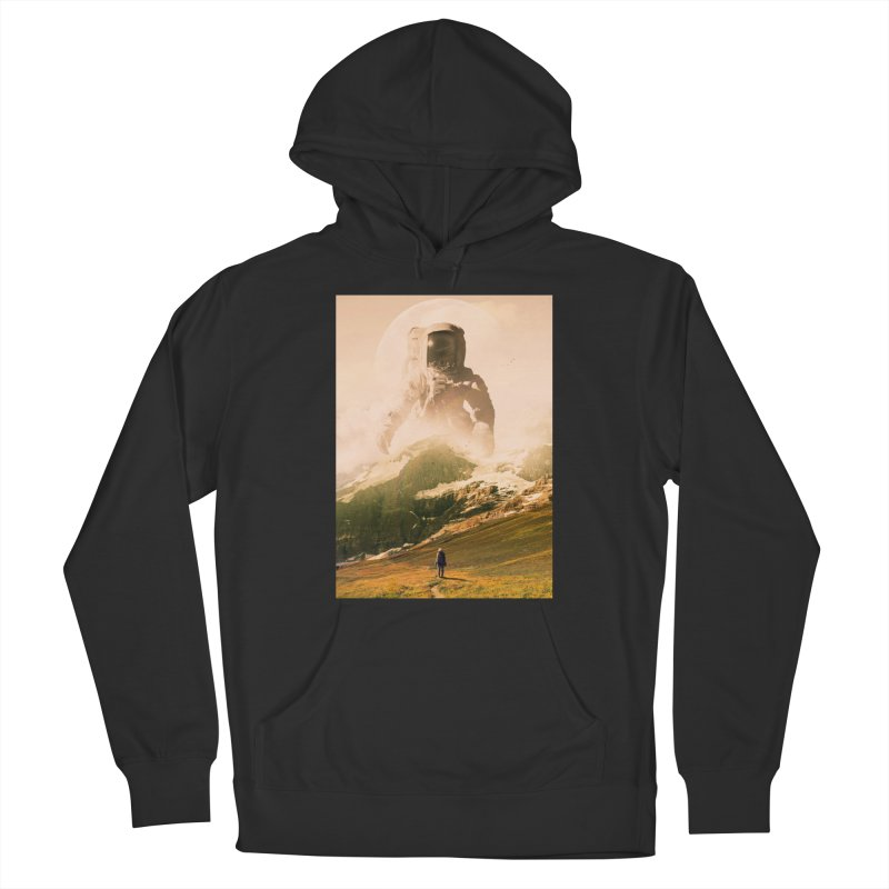 A Visit Men's French Terry Pullover Hoody by nicebleed