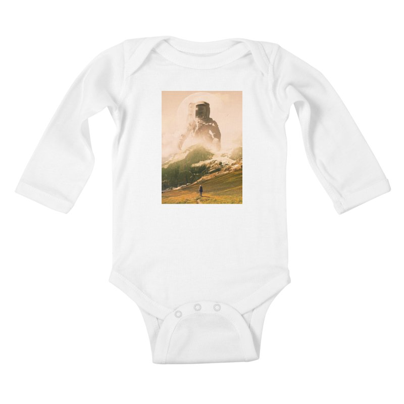 A Visit Kids Baby Longsleeve Bodysuit by nicebleed