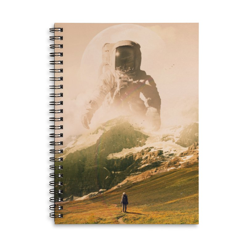 A Visit Accessories Lined Spiral Notebook by nicebleed