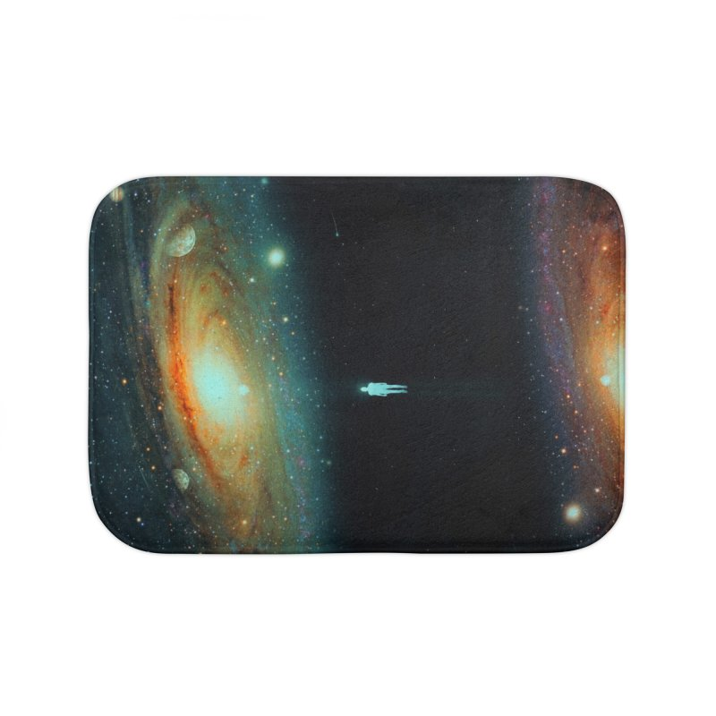 Parallel Universe Home Bath Mat by nicebleed