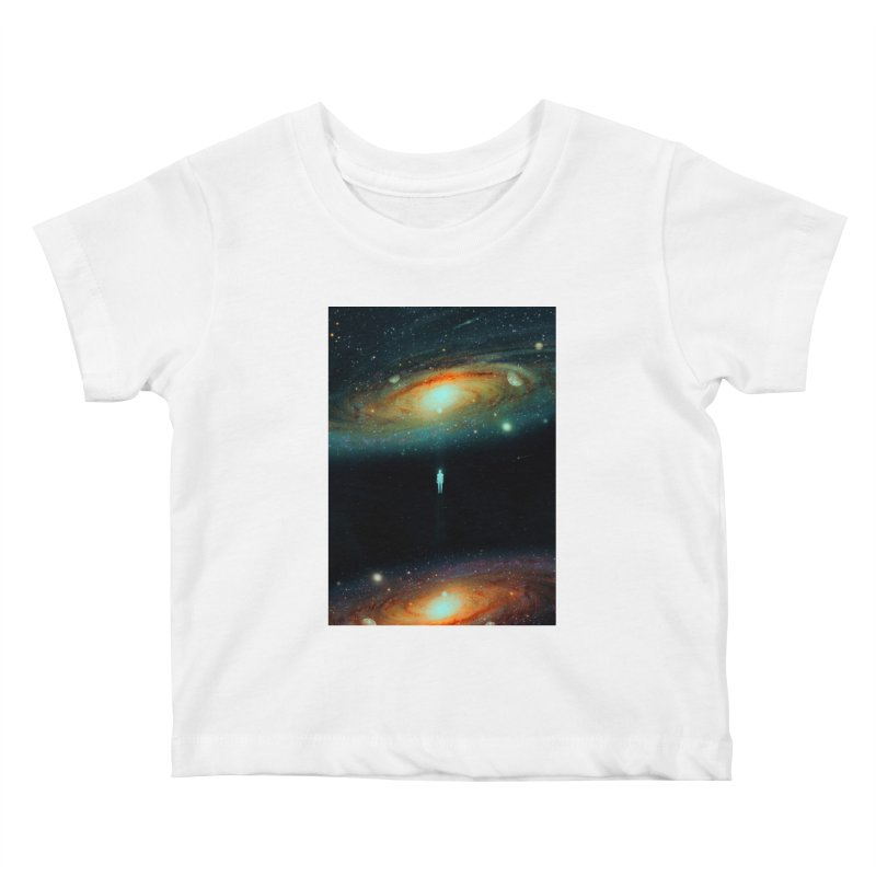 Parallel Universe Kids Baby T-Shirt by nicebleed