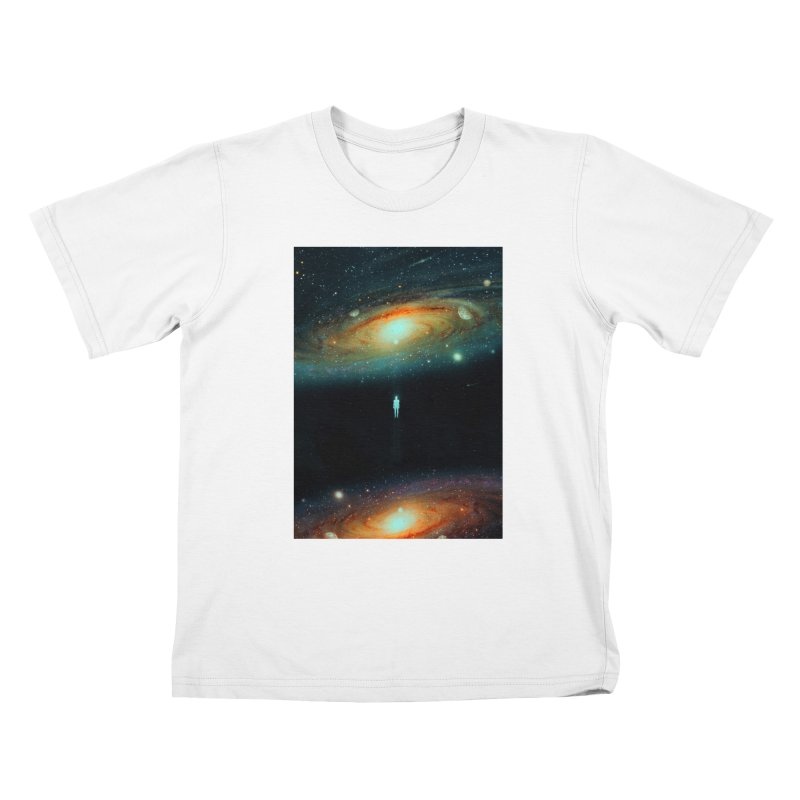 Parallel Universe Kids T-Shirt by nicebleed