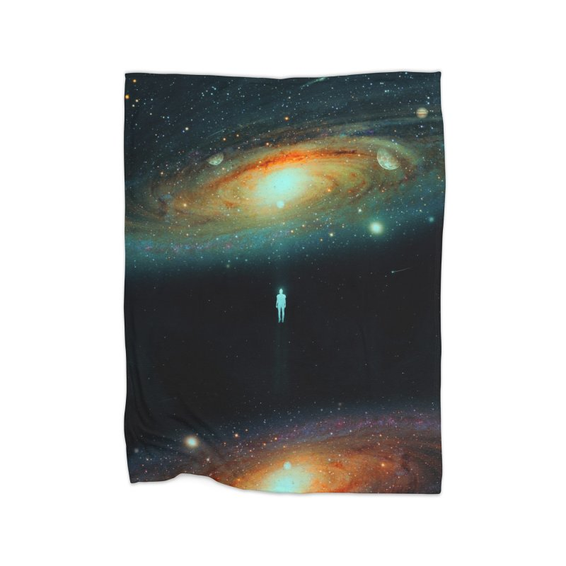Parallel Universe Home Fleece Blanket Blanket by nicebleed