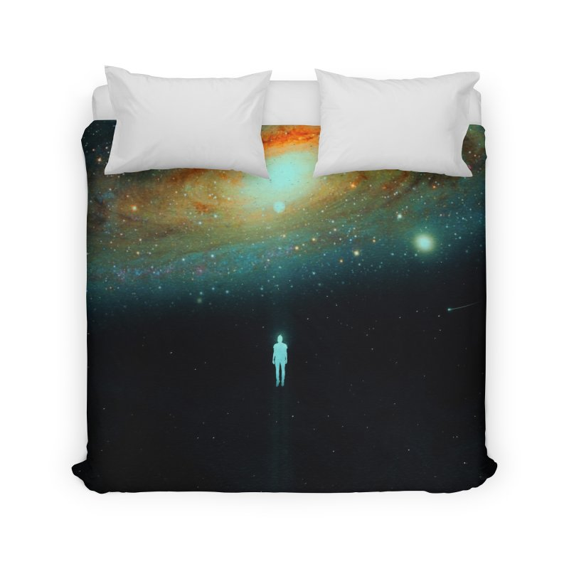 Parallel Universe Home Duvet by nicebleed