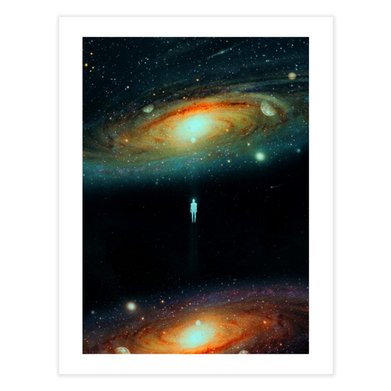 Parallel Universe Home Fine Art Print by nicebleed
