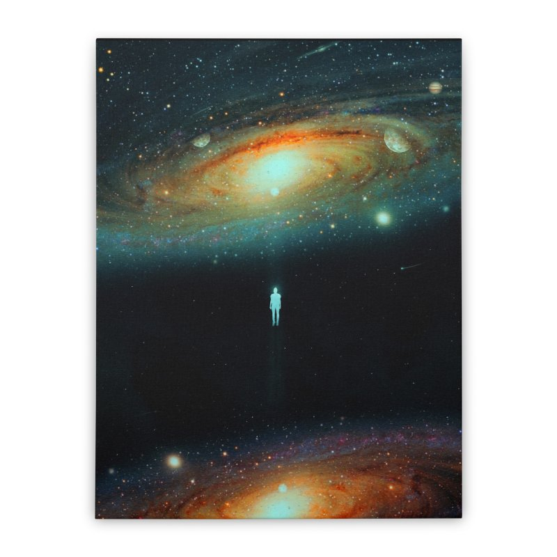 Parallel Universe Home Stretched Canvas by nicebleed