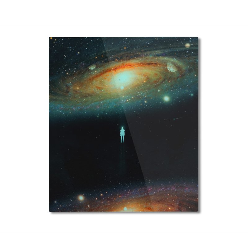 Parallel Universe Home Mounted Aluminum Print by nicebleed