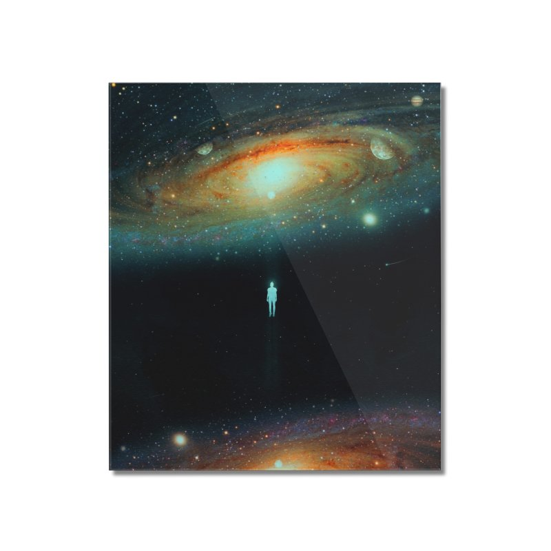 Parallel Universe Home Mounted Acrylic Print by nicebleed