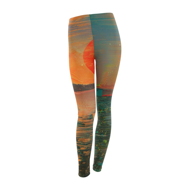 The Blast Women's Leggings Bottoms by nicebleed