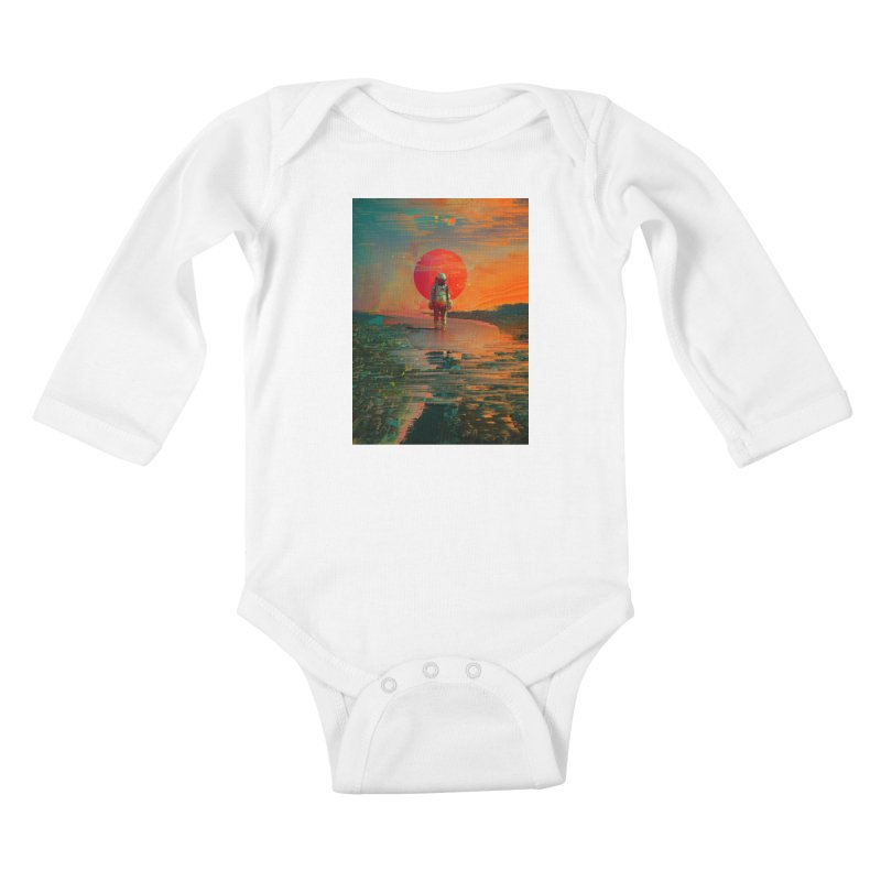 The Blast Kids Baby Longsleeve Bodysuit by nicebleed
