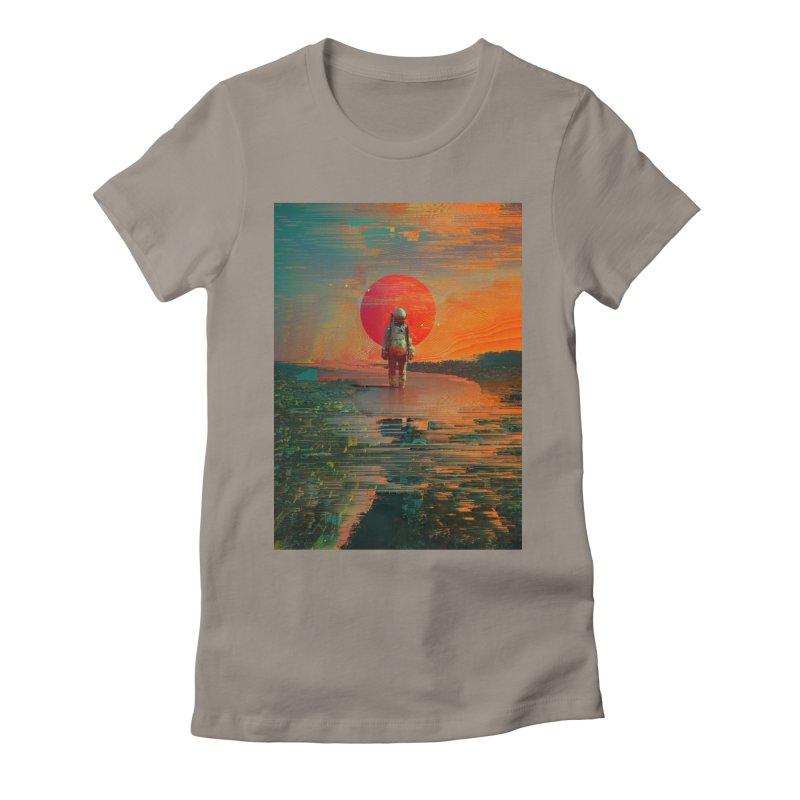 The Blast Women's T-Shirt by nicebleed