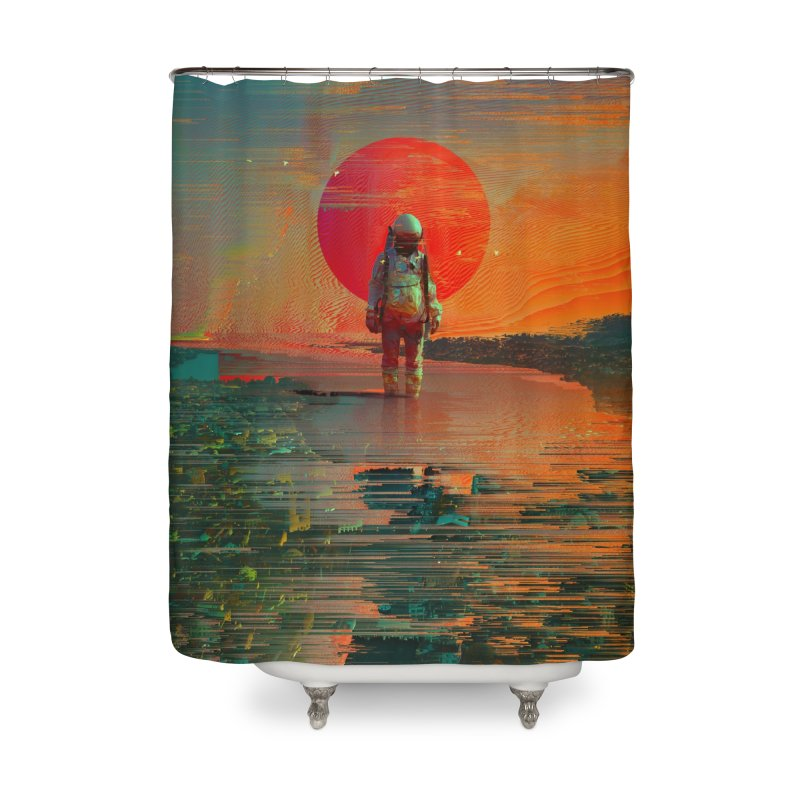 The Blast Home Shower Curtain by nicebleed