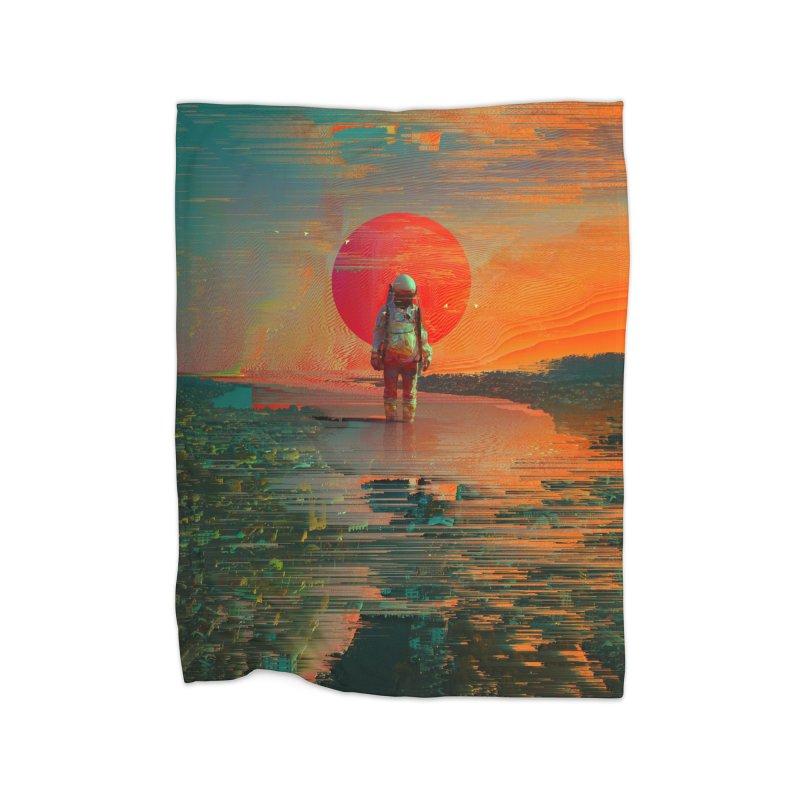 The Blast Home Fleece Blanket Blanket by nicebleed