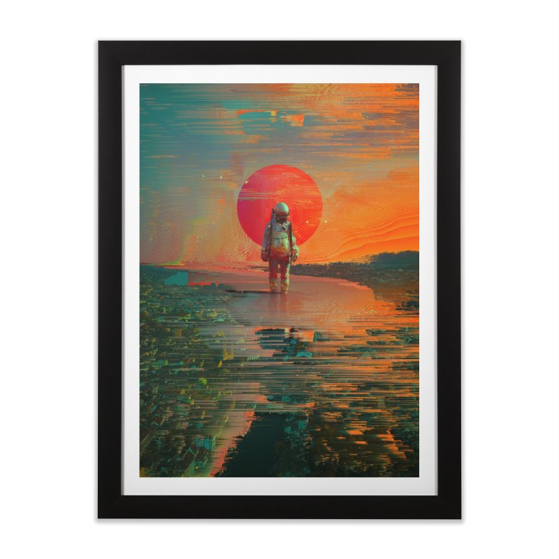 The Blast Home Framed Fine Art Print by nicebleed