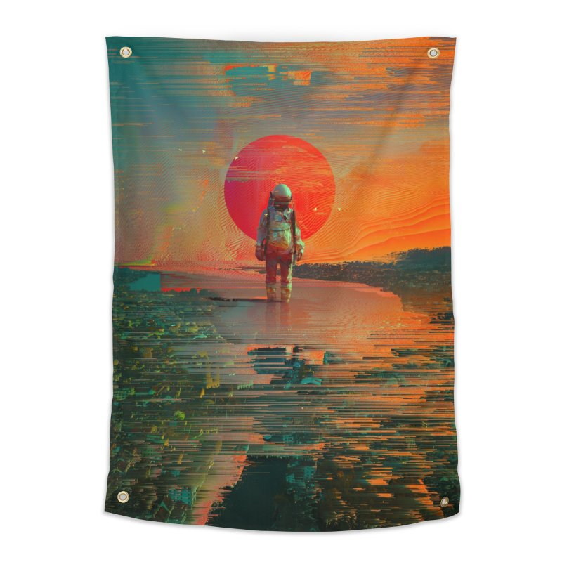 The Blast Home Tapestry by nicebleed
