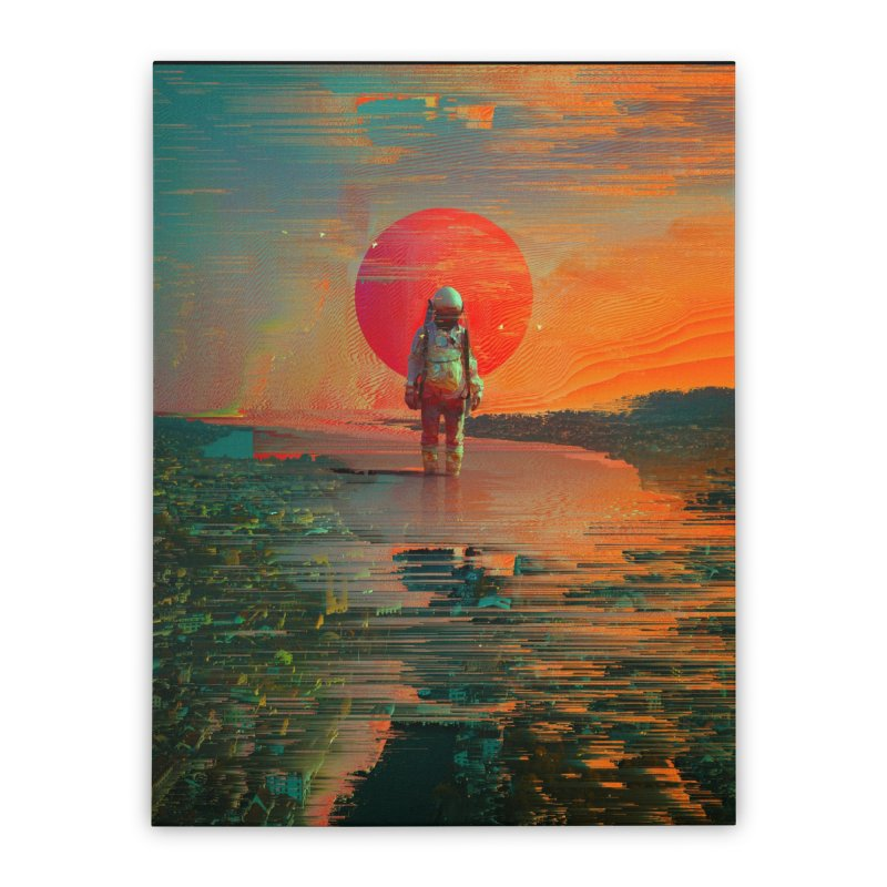The Blast Home Stretched Canvas by nicebleed