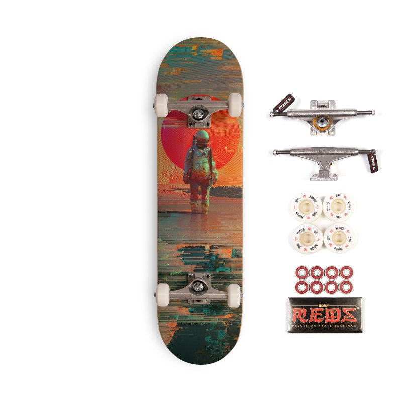 The Blast Accessories Complete - Pro Skateboard by nicebleed