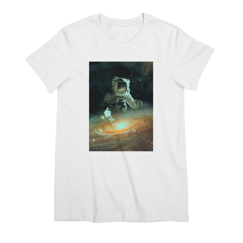 Feeding The Abyss Women's Premium T-Shirt by nicebleed