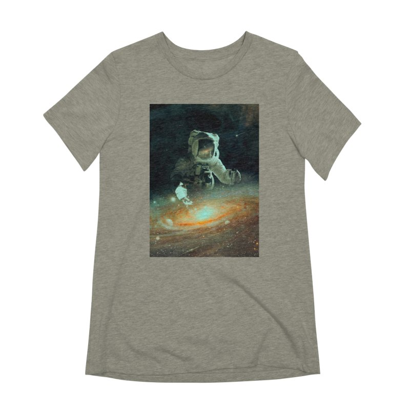 Feeding The Abyss Women's Extra Soft T-Shirt by nicebleed