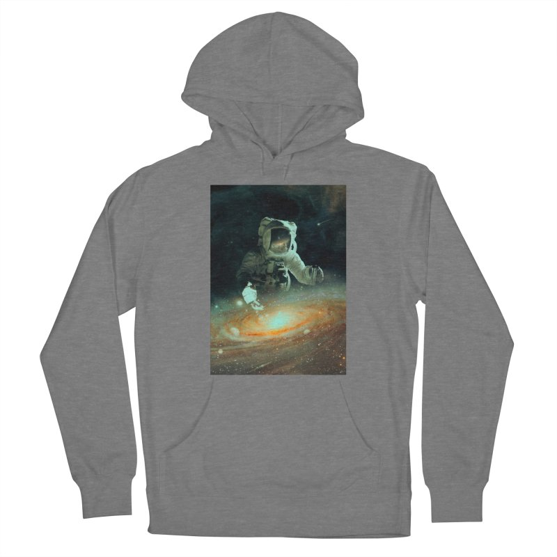 Feeding The Abyss Men's French Terry Pullover Hoody by nicebleed