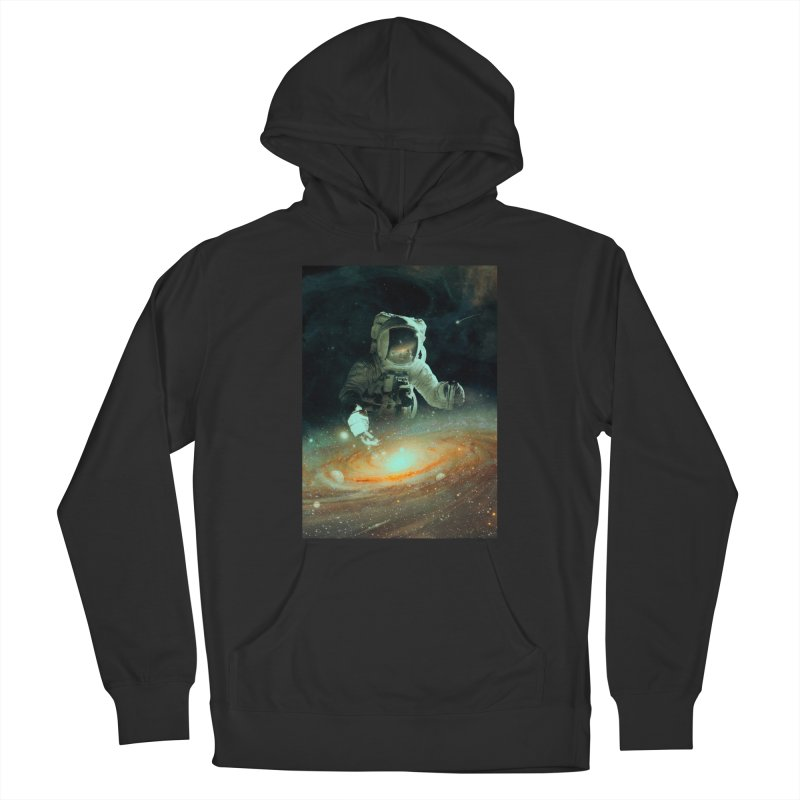 Feeding The Abyss Women's French Terry Pullover Hoody by nicebleed