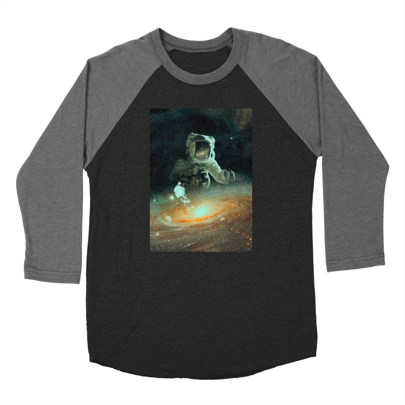 Feeding The Abyss Men's Baseball Triblend Longsleeve T-Shirt by nicebleed