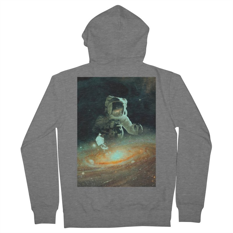 Feeding The Abyss Men's French Terry Zip-Up Hoody by nicebleed