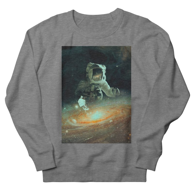Feeding The Abyss Men's French Terry Sweatshirt by nicebleed