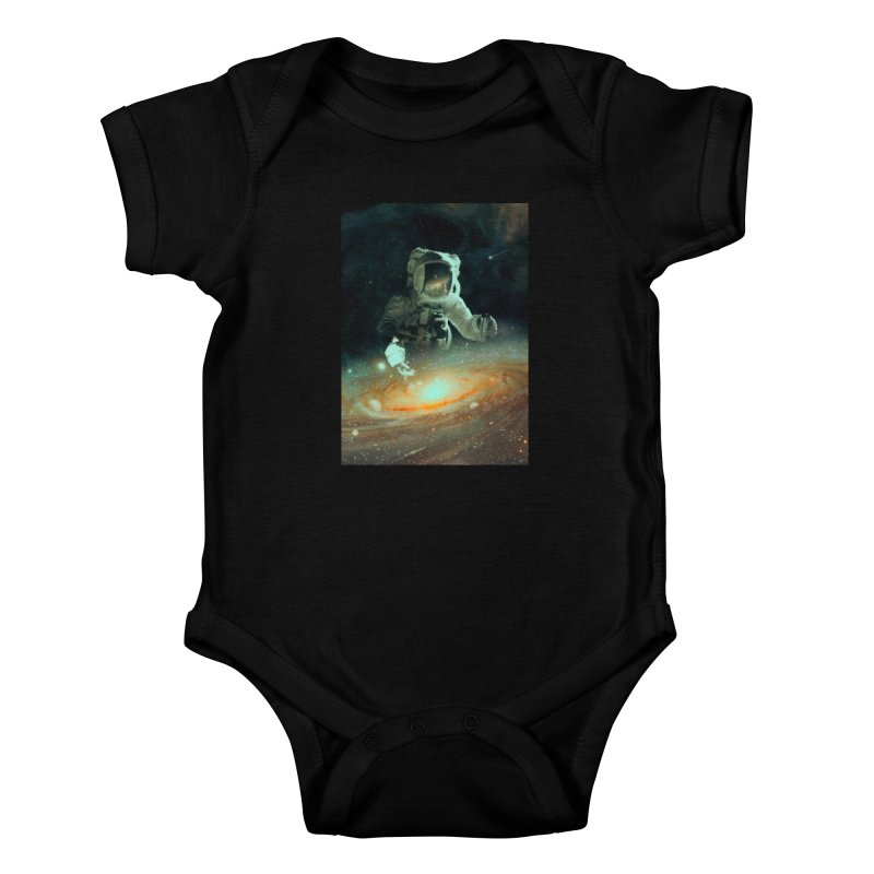 Feeding The Abyss Kids Baby Bodysuit by nicebleed