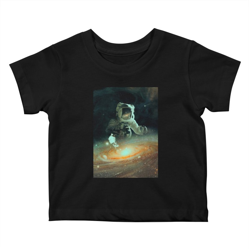 Feeding The Abyss Kids Baby T-Shirt by nicebleed