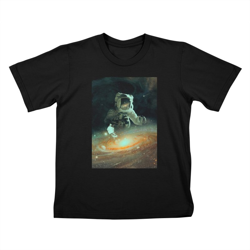 Feeding The Abyss Kids T-Shirt by nicebleed
