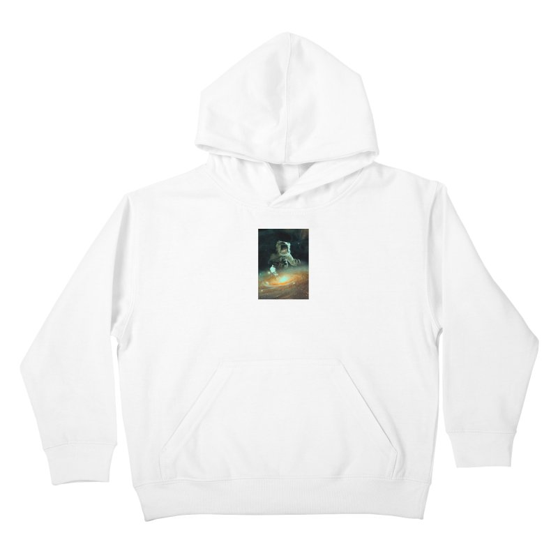 Feeding The Abyss Kids Pullover Hoody by nicebleed