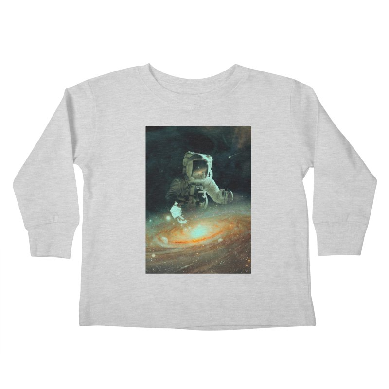 Feeding The Abyss Kids Toddler Longsleeve T-Shirt by nicebleed