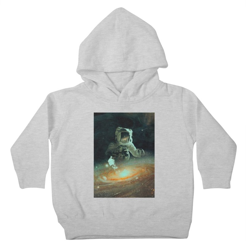 Feeding The Abyss Kids Toddler Pullover Hoody by nicebleed