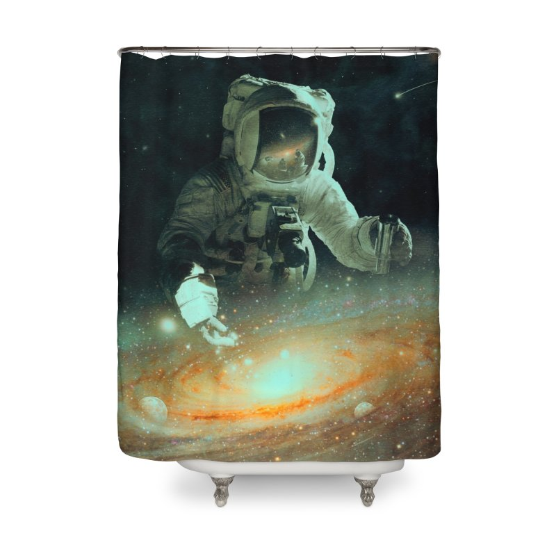 Feeding The Abyss Home Shower Curtain by nicebleed