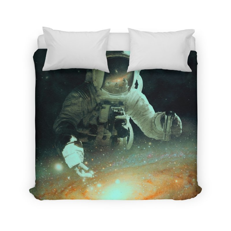 Feeding The Abyss Home Duvet by nicebleed