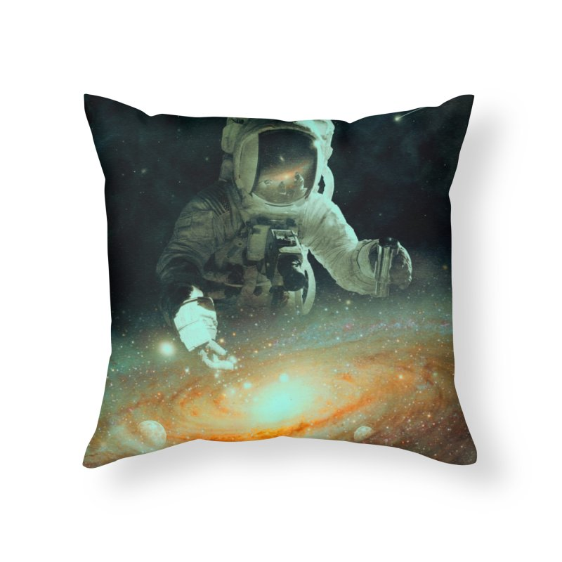 Feeding The Abyss Home Throw Pillow by nicebleed