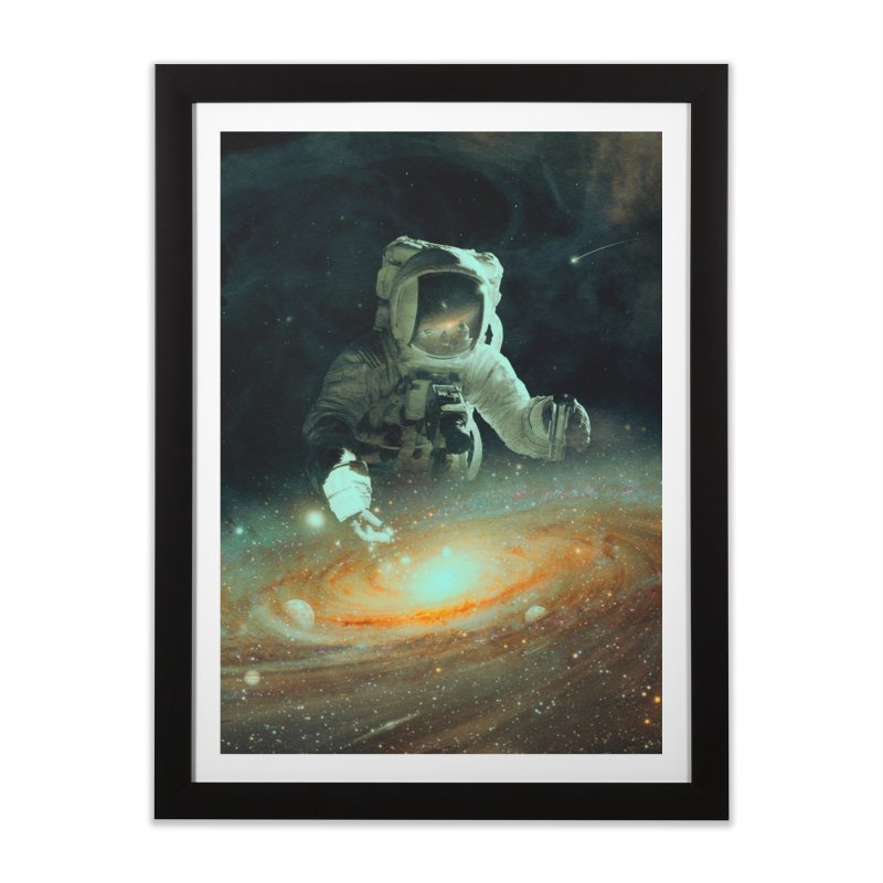 Feeding The Abyss Home Framed Fine Art Print by nicebleed