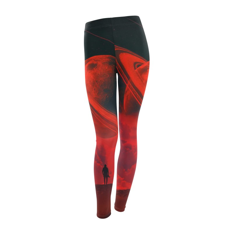 Alone With The Moon Women's Bottoms by nicebleed
