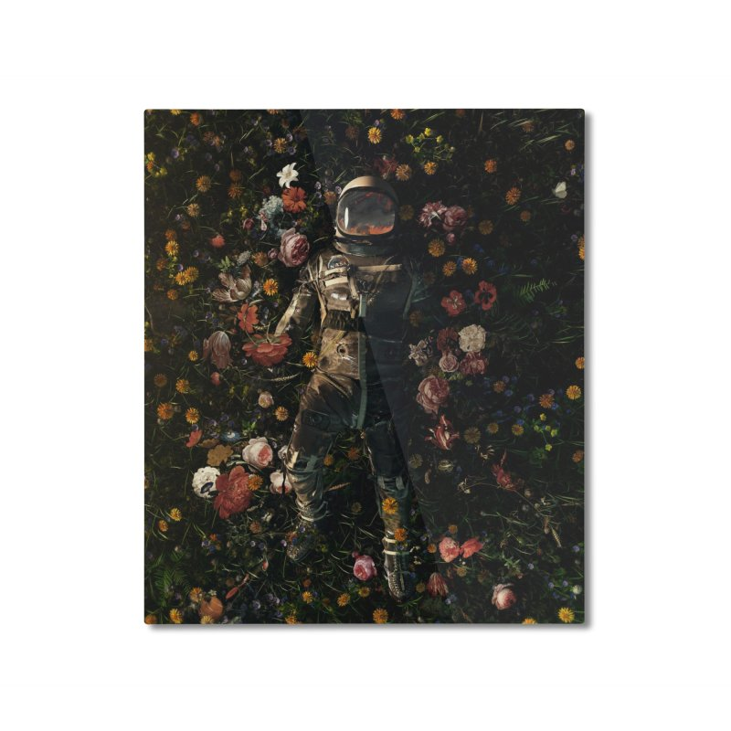 Garden Delights Home Mounted Aluminum Print by nicebleed