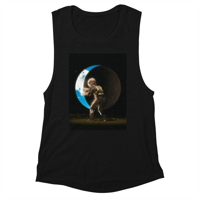 Space Out Women's Tank by nicebleed