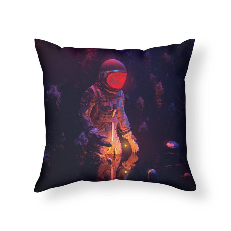 Stellar Spot Home Throw Pillow by nicebleed