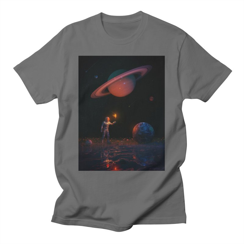Let There Be Light Women's T-Shirt by nicebleed