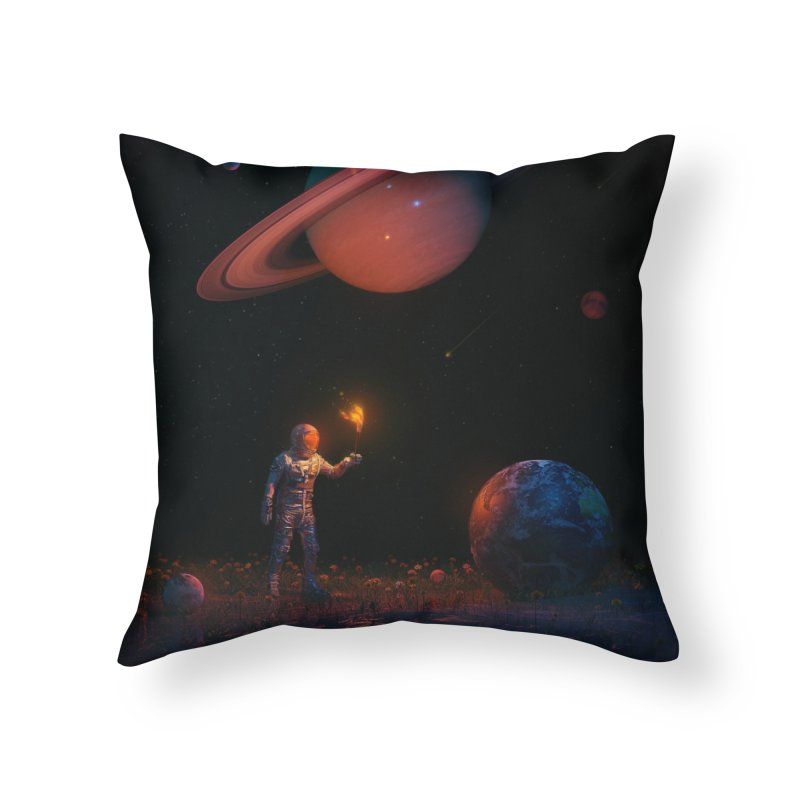 Let There Be Light Home Throw Pillow by nicebleed